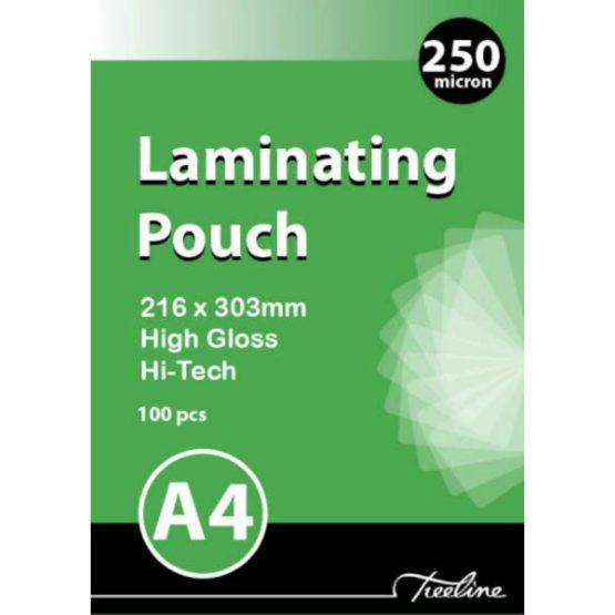 A4 250 Micron Laminating Pouches