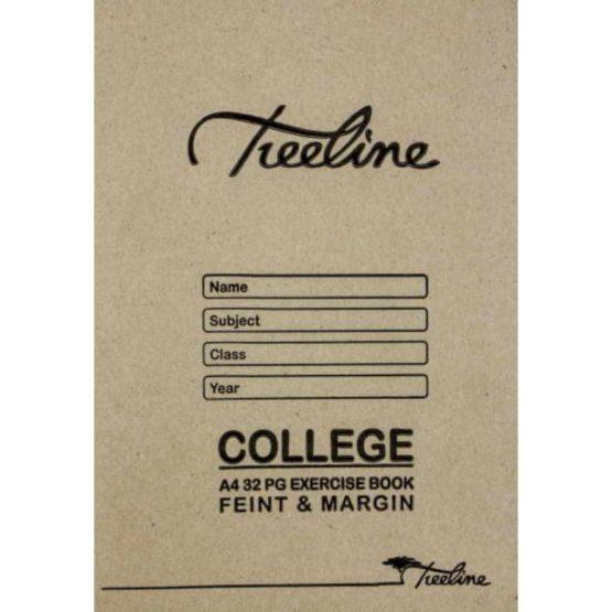 A4 College 32pg Feint and Margin