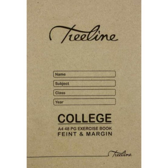 A4 College 48pg Feint and Margin