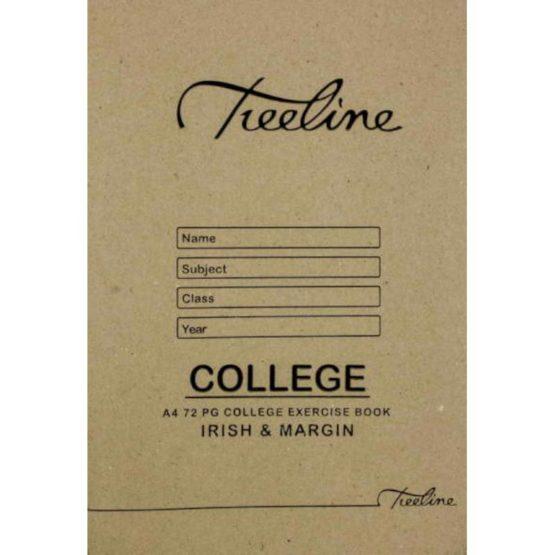 A4 College 72pg Irish and Margin