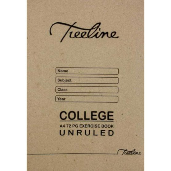 A4 College 72pg Unruled