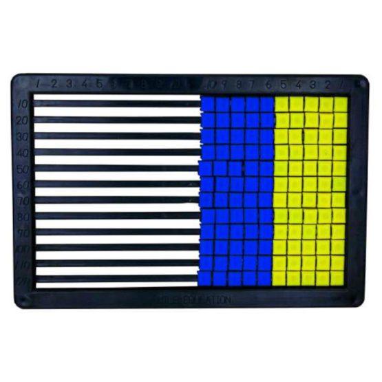 Abacus Plastic 120 Beads Black_1