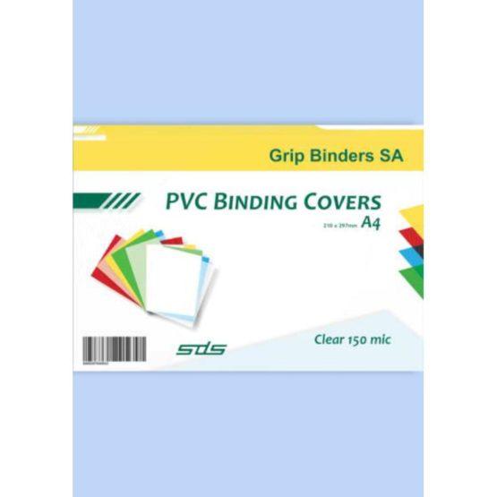Binding Cover Clear 150 Micron