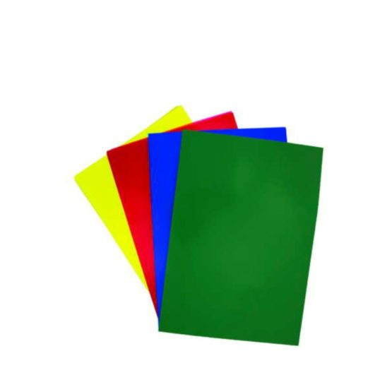 Binding Covers Frosted Colour Assorted Stacked