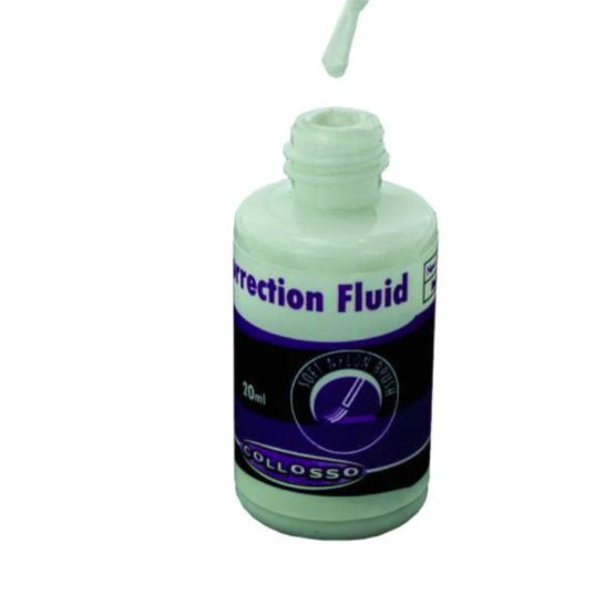 Collosso 20ml Correction Fluid with Brush Tip2